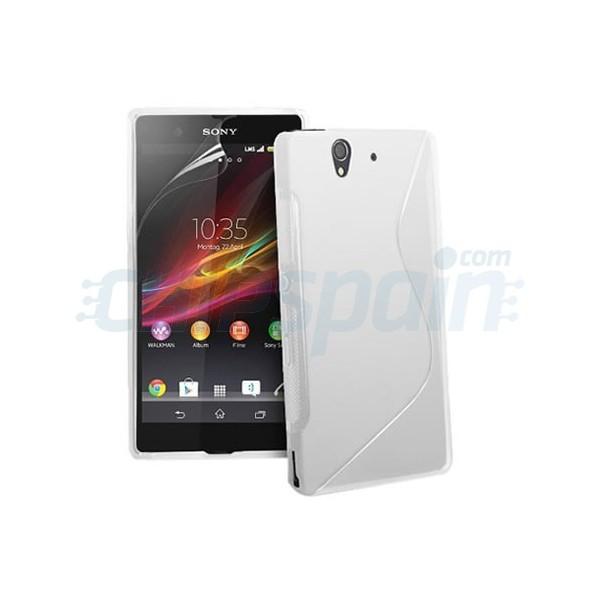 Funda tpu s line sony xperia z transparente - Funda xperia z tablet ...