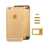Rear Casing Complete iPhone 6 Plus Golden