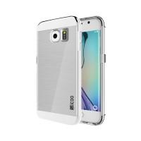TPU Case Slicoo Samsung Galaxy S6 Edge G925F Transparent/Silver