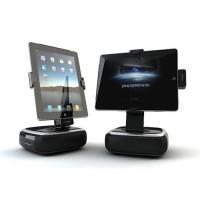 Base de Carga con Altavoces S121i iPad/iPhone -Negro