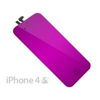 Pantalla Completa iPhone 4S -Morado Espejo