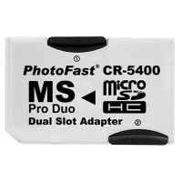 Adaptador MicroSDHC a MS Pro Duo Dual Slot CR-5400