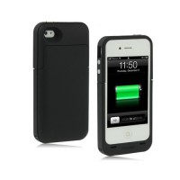 Carcasa Bateria Externa 2000mAh iPhone 4/4S -Negro